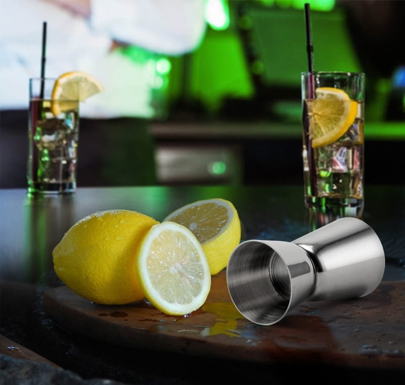 UPORS 550ml/750ml Stainless Steel Cocktail Shaker Martini Boston Shaker For Bartender Drink Party Bar Tool