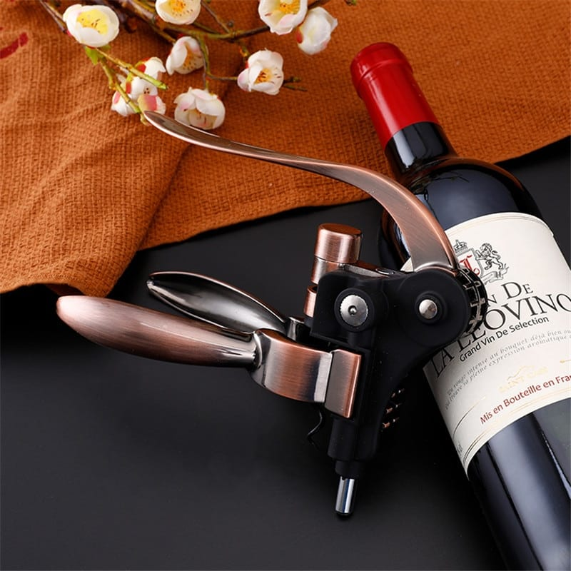Professional Zinc alloy Wine Opener Lever Arm Steel Rabbit Corkscrew Wine Bottle Opener Tool Cork Dropshipping
