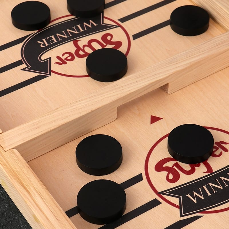 Hockey Sling Puck Game