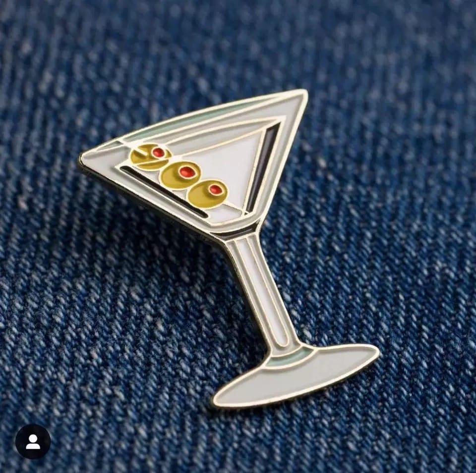 Bar Soul Bartender Badge Japanese Brooch Cocktail Badge Exquisite Professional Bartender Trinket Symbol Of Bartender